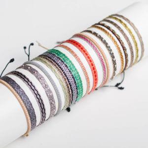 Leju Armbänder, Traditionelle südamerikanische Handwerkskunst mit westlichen Materialien und Designs verbunden. Chic und haltbar. Ab 19 €
