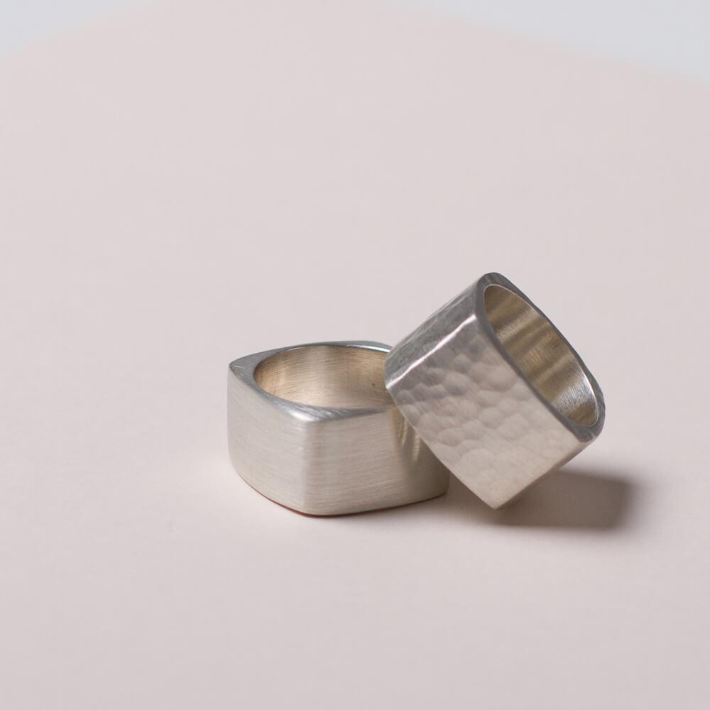 Silberringe massiv. 925 Silber ab 98Euro