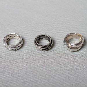Ringe für den Mann in Silber