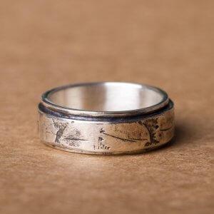 Silberring in 925 Silber